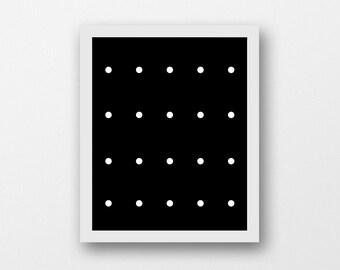 Black Wall Art, Poster Print, Minimalist, Instant Art, Digital Prints, Printable Poster, Geometric Art, Abstract Print, Instant Download