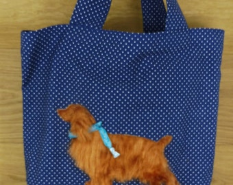 "Shopping bag ""Cocker Spaniel"""