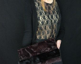 Swakara Fur Bag With Mink