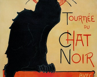 Tournee du chat noir (Théophile Steinlen)