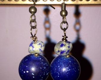 Cosmic Stone Earrings