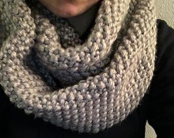 GAPtastic Cowl, handmade twice wrap scarf, large bulky scarf
