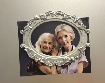 """Vintage Magnetic  Picture Frame 3"""" X 4"""" (IF007)"""