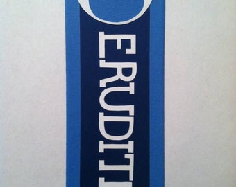 Erudite Faction Bookmark