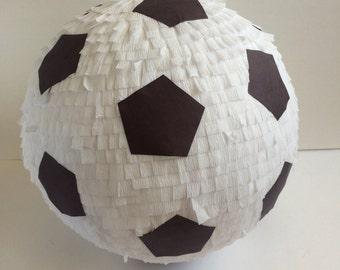 Soccer Ball Pinata - Sports Pinata - Soccer Windup Party - Birthday Party Game