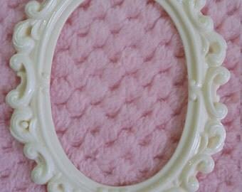 Shabbychic frame/resin