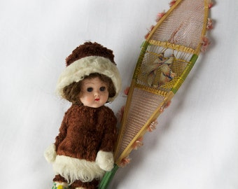 "Ginny ""Eskimo"" Doll By Vogue, 1950s"
