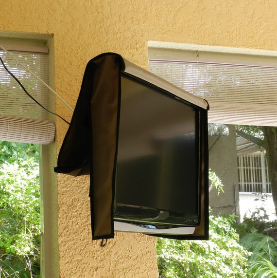 """48"""" Outdoor TV Cover Water and Dust Resistant Fits over"""