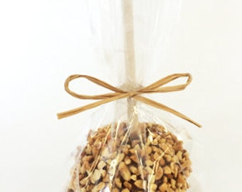 PRE-ORDER ONLY for Shipping Oct-Dec Events: Peanut Caramel Apple Wedding Favors (Ships to Select States Only))