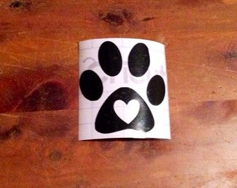 Paw Decal