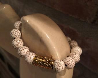 Beaded Bracelet, Stretch Bracelet, Boho bracelet, Womans Bracelet