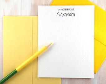 Personalized Stationery Set, Personalized Stationary, Custom Stationary, Thank You Cards, Monogram Stationary, Custom Note Cards