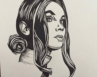 "9""X12"" Custom Portrait Drawing"