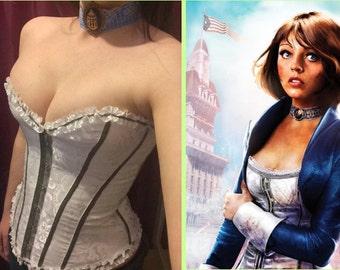 Brocade Corset: Elizabeth BioShock Infinite Inspired