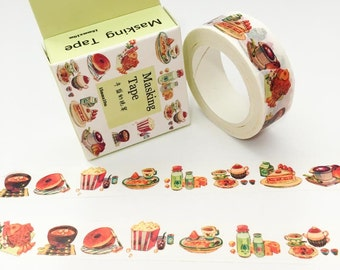 Food Washi Tape