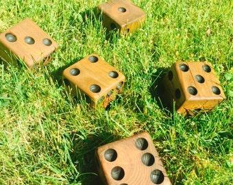 Oversize Yard Game - Yardzee - Lawn Dice - Yard Yahtzee - Yard Games - Yard Dice - Giant Yahtzee - Lawn Games - Outdoor Games
