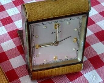 CYMA vintage alarm clock
