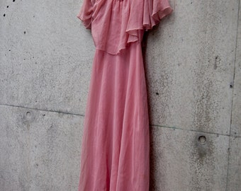 Pretty in Pink Dress // Dusty Pink // Size 10