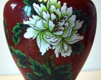 """Antique """"Cloisonné"""" Vase"""
