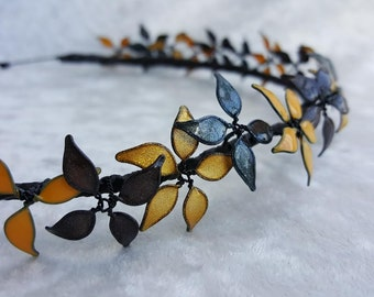 Hufflepuff Flower Crown