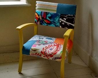 Patchwork children's chair
