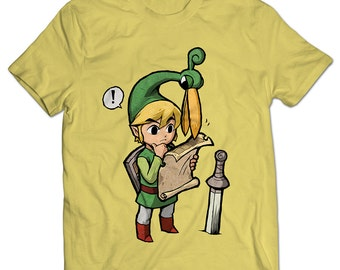 The Legend of Zelda: The Minish Cap Link Ezlo Men's T-shirt