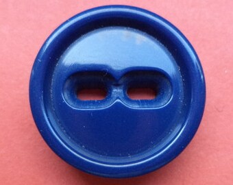 9 dark blue buttons 21mm (5482) button blue