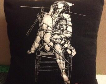 Dead Alive T-Shirt Pillow