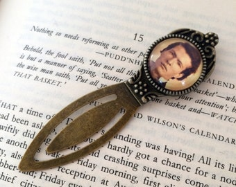 Mark Twain Bookmark - American Novelist Bookmark, The Adventures of Tom Sawyer, Huckleberry Finn, American Literature Gift, Mark Twain Gift