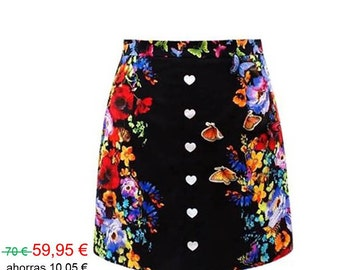 Skirt: butterfly effect... I love it!
