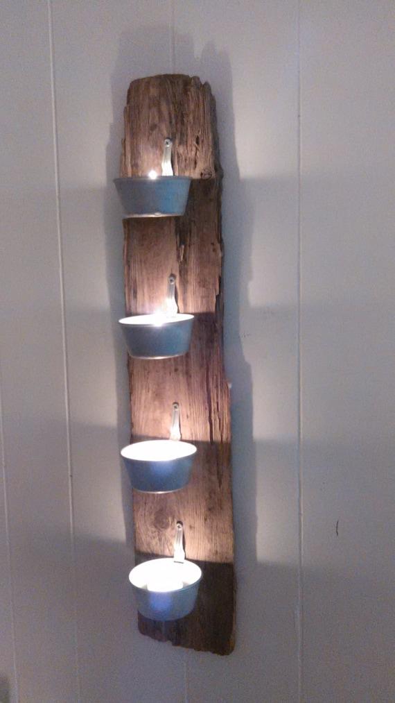 Wall Sconces Driftwood : Bluegrass Drift: Driftwood Wall Sconce 1