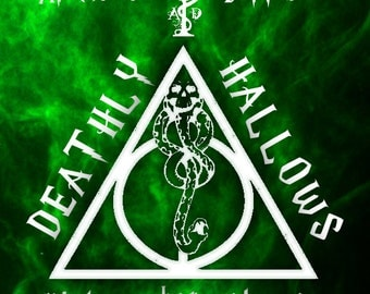 DEATHLY HALLOWS - Harry Potter Vegan Mint and Charcoal Soap
