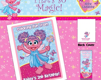 Abby Cadabby Coloring Book with Crayons
