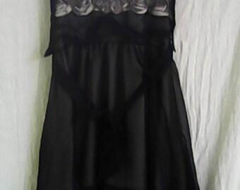 Halter Style Black Dress