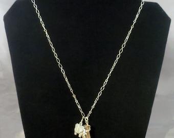 Asian Elephant Necklace