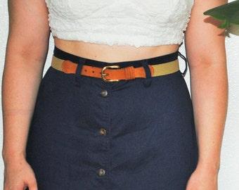 Vintage Stretchy Belt