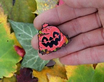Leaf Eater - 1.25 inch Enamel Pin