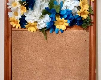Floral Bulletin Board
