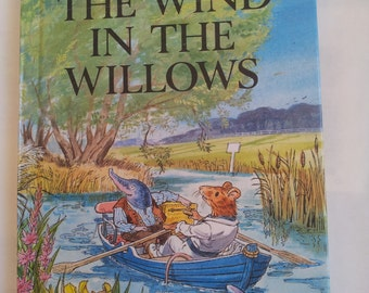 Ladybird The Wind in the Willows Kenneth Grahame Children's Classics Vintage book 1980s