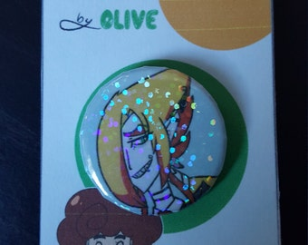 TwistedFates Holographic Button Pins (series 1)