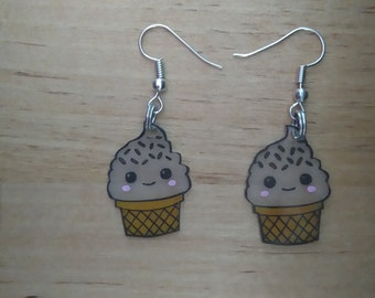 Ice kawaii earrings 1