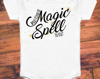 What Kind of Magic Spell To Use - Labyrinth Onesie