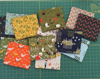 Gardening by Dinara Mirtalipova Fat Quarter bundle