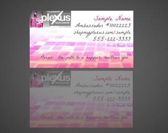 Digital* Plexus Business Cards