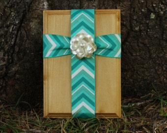 Cross/Fabric Cross/Fabric Wall Cross/Wood Cross/Decorative Cross/Wall Hanging/Decorative Wall Cross
