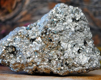 Pyrite Mineral Crystal Cluster - 1043.884