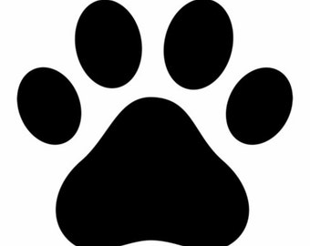 Paw Car Vinyl Decal Stickers