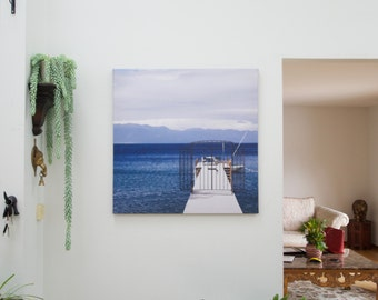 Tahoe. (Canvas Print Photography)