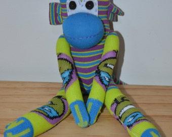 Ninja Turtle Print Sock Monkey