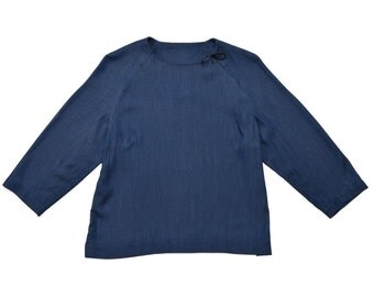 TOP - ACAPULCO TENCEL blue